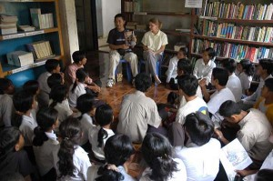 In Cambodia with LC
